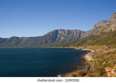 The False Bay coast, Republic of South Africa