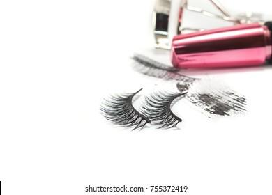 False eyelashes beauty background