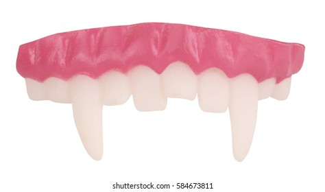 False vampire teeth for costume ball