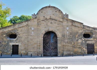 The Famagusta Gate in the Nicosia walls, built in 1567 by Venetians and restored by Ottoman in 1821 in Nicosia, Cyprus