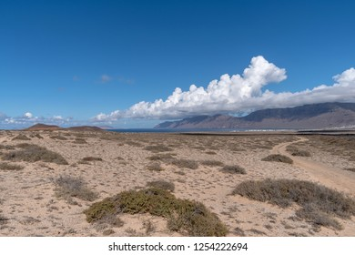 Famara massif, Lanzarote Island, Canary Islands, Spain