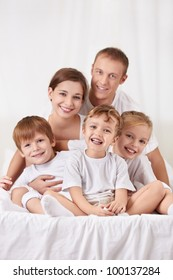 Families with children in the bedroom
