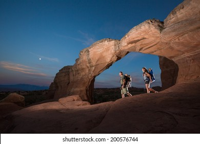 Family Adventure Hike (Arches National Park)