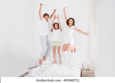 Family Bed Jump