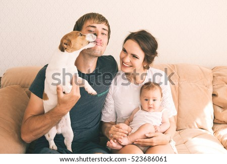 Family Close Up Portrait