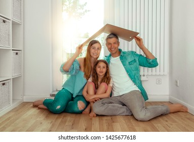 family dreaming of new home