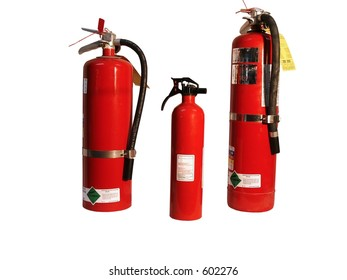Family of fire extinguishers