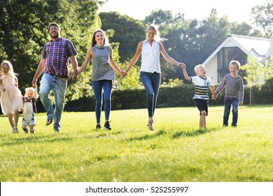 Family Generations Parenting Togetherness Relaxation Concept