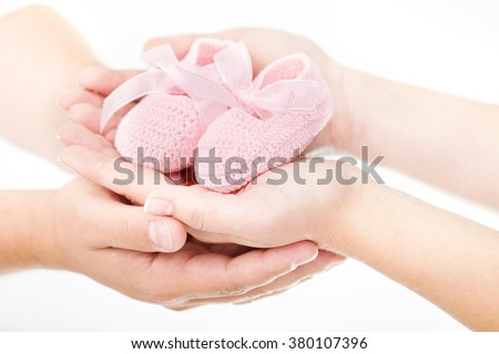 Family Hands Mother Father Hand Holding Stock Photo Edit Now