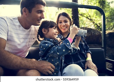 Family Holiday Vacation Park Ride Tourist
