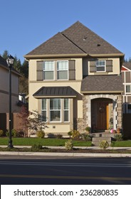 Family home new construction in Wilsonville Oregon.