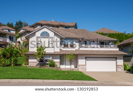 Family House Big Garage Trees Front Stock Photo (Edit Now) 130192853 on big houses for cheap prices, big garage homes, boats with garages, big houses beautiful houses, million dollar garages, big mansion bedrooms, big old houses, big house with yard, big nice house inside, big houses on islands, house plans with large garages, big 1 story homes, cars with garages, big old garages, mansions with garages, big narco houses, inside of house garages, big inside of garage, big house with cars, big brick house,