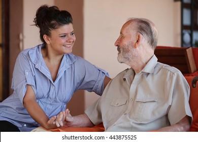family  love grandparents and grandchildren or carer