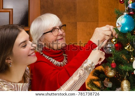 and teens Grandma young