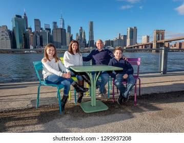 Family in New York City