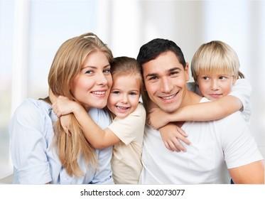 Family, parents, children.