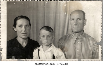 Family portrait. Ukraine (composed USSR), mid 20 century