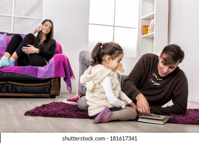 Family in the room