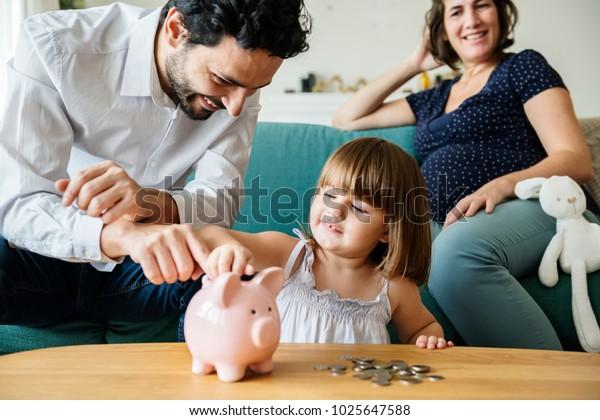 Familienspar in der Sparkasse