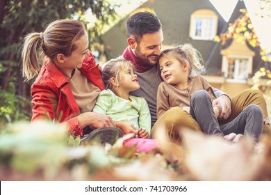 Family spending time together.