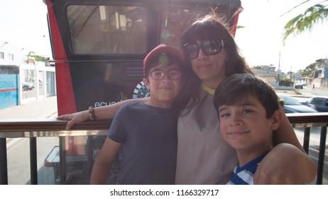 Family trip on Train