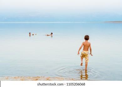 Family vacation at Dead sea