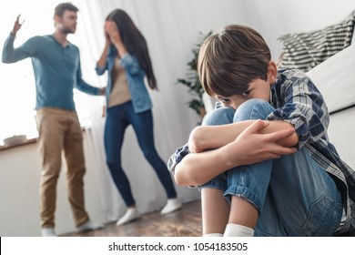Family violence problems father alcoholic concept arguement