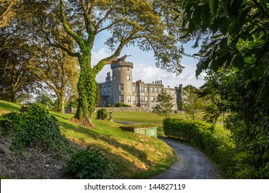 famous 5 star dromoland castle hotel and golf club in ireland. great venue for business and family hotel and wedding events.