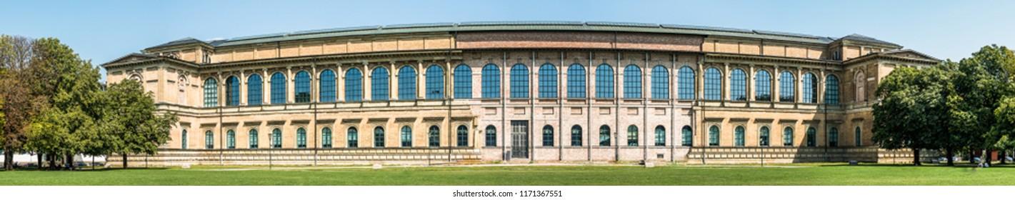 famous alte pinakothek in munich