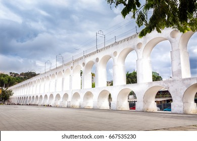 "The famous ""arches of the lapa"" of the city of Rio de Janeiro, Brazil./ Arches of the lapa./ The famous ""arches of the lapa""."