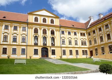 Famous Baroque chateau Jaromerice nad Rokytnou, Czech Republic