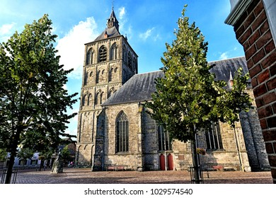 The famous basilica of St Plechelm (Sint-Plechelmusbasiliek) in Oldenzaal - The Netherlands