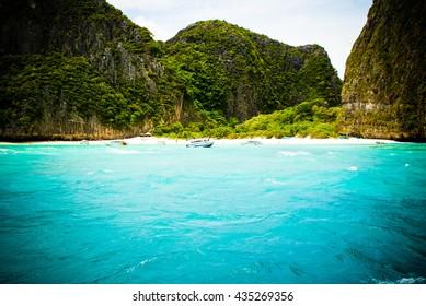 Famous Beach Getaway Island Thailand