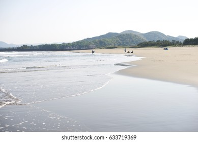 The famous Beach of Kochi in Japan
