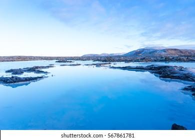 The Famous Blue Lagoon near Reykjavik, Iceland