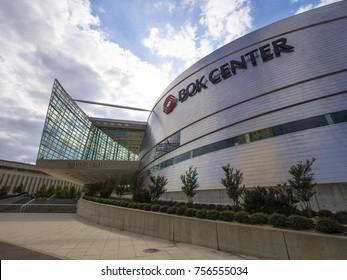 Famous Bok Center in Tulsa Downtown - TULSA / OKLAHOMA - OCTOBER 17, 2017