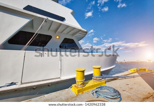Famous Boston Harbor Harbor Boat Tours Stock Photo Edit Now