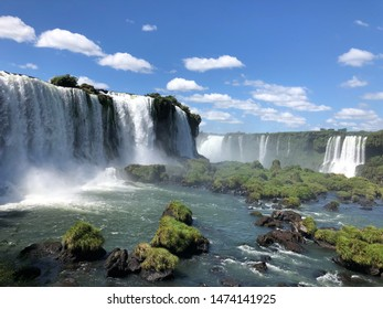 The famous brazilian biggest waterfalls