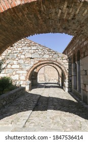 The famous byzantine monastery of Hosios Loukas in Central Greece - Shutterstock ID 1847536414