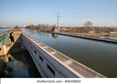 famous canal crossing minden germany