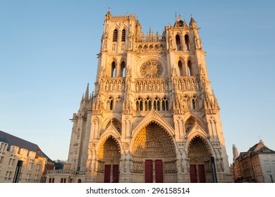 Famous Cathedral Basilica of Our Lady of Amiens, Picardy, France