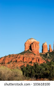 Famous Cathedral Rock in Sedona