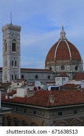 The Famous Cathedral of Santa Maria del Fiore, Florence, Italy