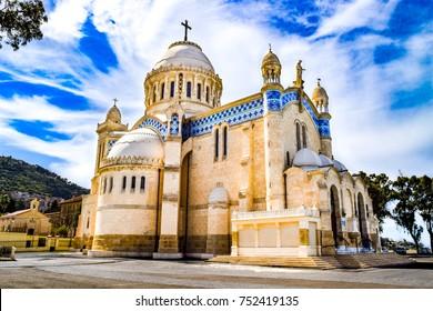 Famous Catholic Church [Notre Dame d'Afrique] - Algiers, Algeria