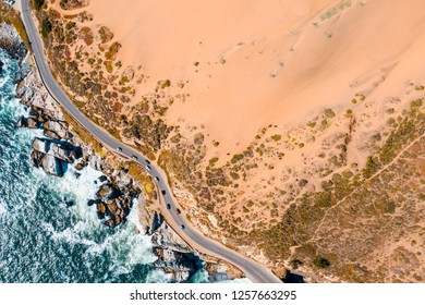 Famous chilean dunes located at Viña del Mar