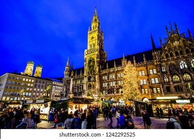 famous christmas market in munich - germany