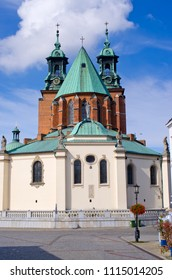 Famous church in Gniezno - Poland