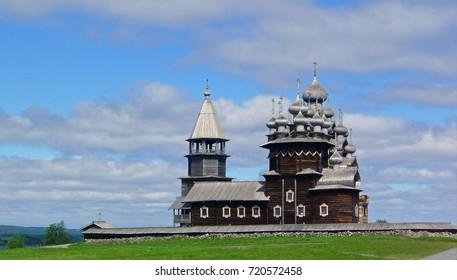 famous Church on the island Kizhi