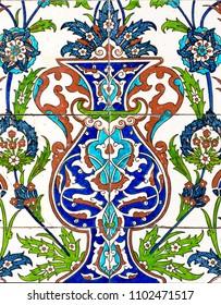 famous kütahya city tile