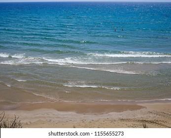 Famous coast beach of Cabo Roig. Province of Alicante. Costa Blanca. Spain great summer travel destination